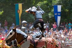 Jousting Stock Images