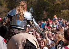 Jousting Champion Shane Adams Royalty Free Stock Photos