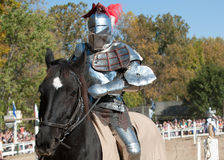 Jousting Champion Shane Adams Stock Photo