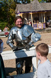 Jousting Champion Shane Adams Royalty Free Stock Image