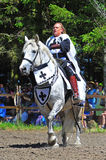 Jousting competition official Royalty Free Stock Photos
