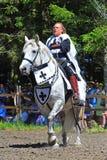 jousting officiell för konkurrens Royaltyfria Foton