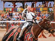 Jousting at the Renaissance Festival Stock Image