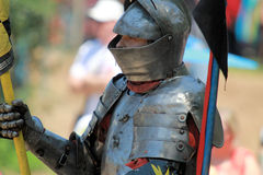 Jousting Rider Royalty Free Stock Photos