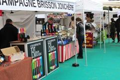 Jouy en Josas,法国- 2016年6月5日:烹饪市场 免版税库存照片
