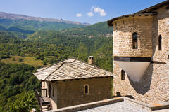 Jovan Bigorski Monastery Stock Photo