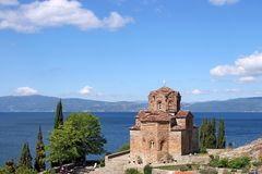Jovan Kaneo ortodoksyjny kościół Ohrid Macedonia Fotografia Stock