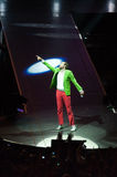 Jovanotti in concert Stock Photography