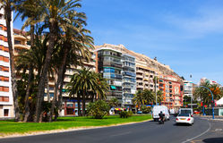 Jovellanos street in Alicante Stock Photo