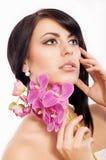Jovem mulher Fotografia de Stock Royalty Free