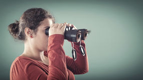A jovem mulher fotos de stock royalty free