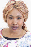 Jovem mulher africana bonita Imagem de Stock