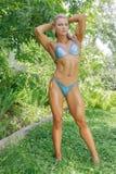 Jovem mulher atlética Imagens de Stock Royalty Free
