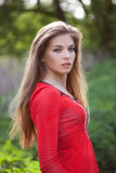 Jovem mulher bonita imagem de stock royalty free