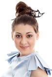 Jovem mulher bonita do retrato fotografia de stock royalty free