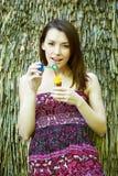 Jovem mulher bonita do retrato Imagem de Stock Royalty Free