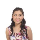 Menina adolescente asiática imagens de stock royalty free