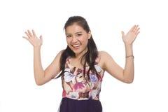 Menina adolescente asiática imagem de stock royalty free