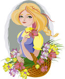 Florista Fotografia de Stock Royalty Free