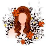 Jovem mulher com penteado elegante Fotografia de Stock Royalty Free