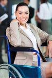 Jovem mulher deficiente Fotos de Stock Royalty Free