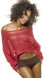 Jovem mulher exótica bonita Foto de Stock