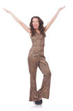 Jovem mulher na forma Imagem de Stock Royalty Free