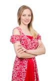Jovem mulher na forma Imagens de Stock Royalty Free