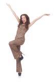 Jovem mulher na forma Fotografia de Stock Royalty Free