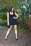 Mulher da forma Fotografia de Stock Royalty Free