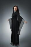 Jovem mulher no vestido medieval Imagens de Stock Royalty Free