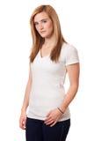 Jovem mulher ocasional Imagem de Stock