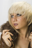 Jovem mulher 'sexy' Imagens de Stock Royalty Free