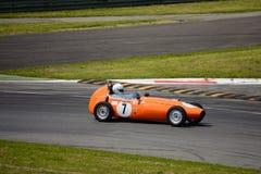 Joven 1959 de la fórmula de Alexis HF1 en Monza Imagen de archivo libre de regalías