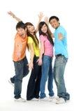 Jovens de Ásia Imagens de Stock Royalty Free