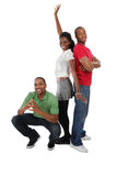 Jovens felizes Fotografia de Stock Royalty Free