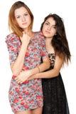 Jovens mulheres bonitas e sua amizade Fotos de Stock