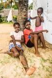 Jovens mulheres malgaxes Imagem de Stock