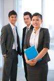 Jovens no negócio Imagem de Stock Royalty Free