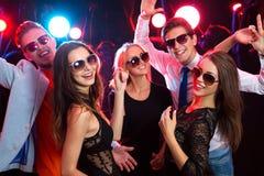 Jovens no partido Foto de Stock