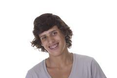 Jovens a sorrir Fotografia de Stock