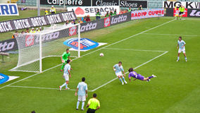 Jovetic Fiorentina Lazio, serie A, Florence Italië Royalty-vrije Stock Fotografie