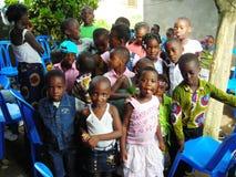 JOY OF AFRICAN CHILDREN Stock Photo