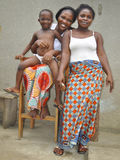 The joy of an African family Stock Photo