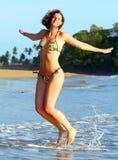 Joy At The Beach Royalty Free Stock Photo
