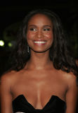 Joy Bryant. HOLLYWOOD, CALIFORNIA. November 2, 2005. Joy Bryant at the Paramount Pictures' Get Rich or Die Tryin' Los Angeles Premiere at the Grauman's Chinese Royalty Free Stock Photos