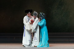"The joy of childbirth-The eighth act getting a new born child-Kunqu Opera""Madame White Snake"" Royalty Free Stock Photos"