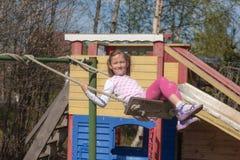Joy of childhood Stock Photos