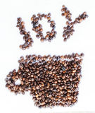 Joy Coffee Royalty Free Stock Photo