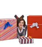 The joy of gifts Stock Images